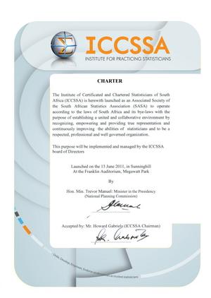 ICCSSA Charter